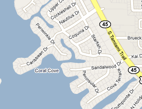 Coral Cove Map