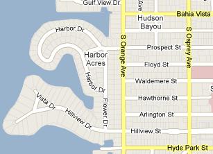 Harbor Acres Map