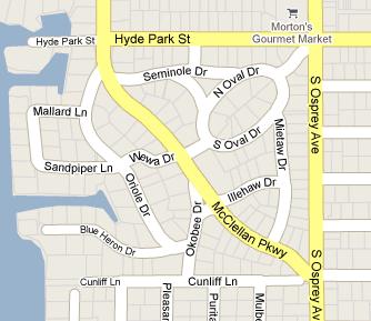 McClellan Park Map