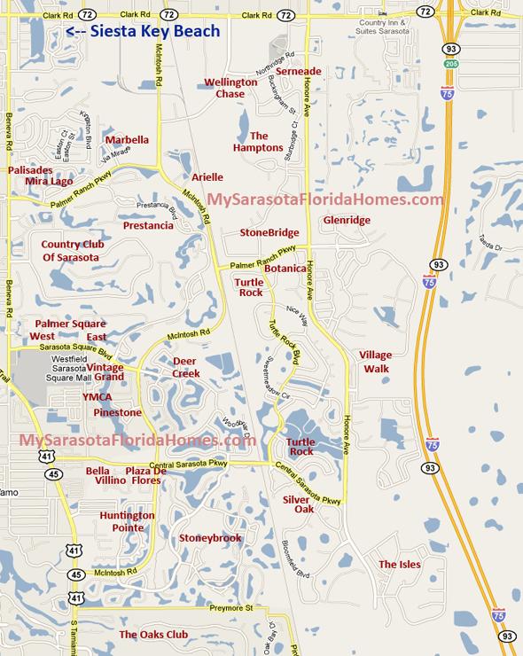 Palmer Ranch Map